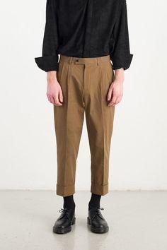 Menswear | Paper Pant, Drab