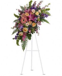 Heavenly Grace Spray Flowers