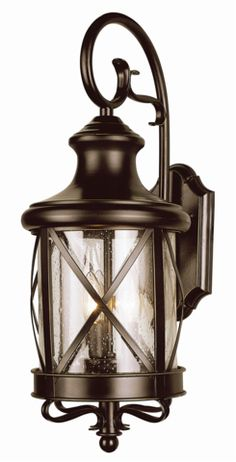 "Trans Globe Lighting 5120 19"" New England Coastal Outdoor Coach Lantern Light"