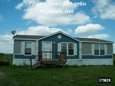 $47,900 This beautiful 2012 Cavco manufactured home.3 bedrooms, 2 bathrooms, 32 X 44 or 1408 square feet. An all electric home. The exterior hardboard and shingle. The bathrooms of the home both have a large garden tub with separate showers. In the living room there is a fireplace that will give you a homely feeling. (210)-887-2760 http://mhdeals.net/gallery/used-double-wide-mobile-homes/2012-Cavco-Cedar-Creek-TX LIC 36155