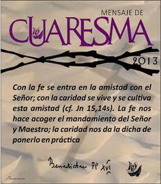 """Taller online """"vive la CUARESMA con sentido 2013"""" apúntate y participa con nosotros. bendiciones!"""