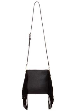 Desperately looking for the perfect crossbody black fringe purse.