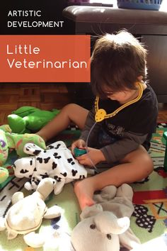 Knoala Late Preschooler Activity: 'Little Veterinarian' helps little ones develop Artistic and Cognitive skills. #Knoala #KidsActivities *What an great collection of no-prep activities for kids!