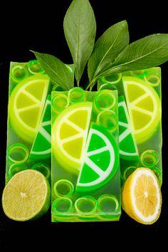 Lemon Lime Clear Glycerin Soap