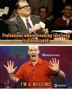 Whose line. I literally just LOL'd.so hard.