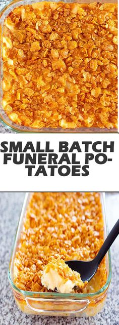 Party Potatoes, Cheesy Potatoes, Funeral Potatoes Recipe, Cheesy Bread Recipe, Cheesy Hashbrown Casserole, Buttered Corn, Batch Cooking, Thanksgiving Side Dishes, Great Recipes