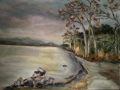 Lago Oleo/lienzo 100x81