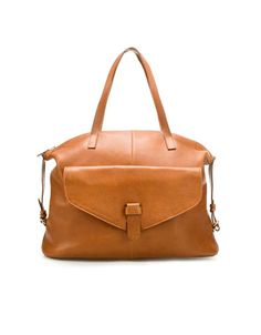 bolso mujer zara marron #totebag #zara #tiendaropa