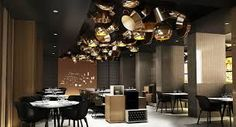 Image result for copper pots installation restaurant