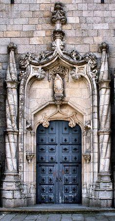 Cathedral Door of Guarda ~ Guarda, Portugal