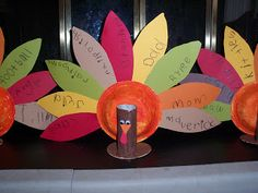 The Thoughtful Spot Day Care: Thanksgiving Cute ideas