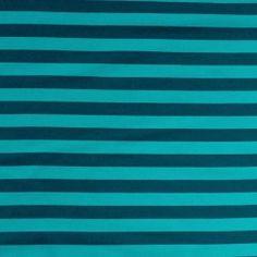 Sweat bio rayé pétrole-bleu - 17.90€/m - ressemble a du bord côtes.. chouette !!