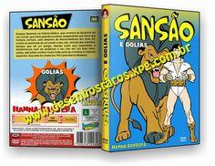 Desenho O JOVEM SANSÃO DUBLADO EM PORTUGUÊS. Garantia 100% de ENTREGA em MÃOS.  Dúvidas e Informações aqui: desenhosraros2005-livre@yahoo.com.br