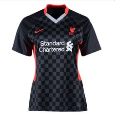Liverpool 20/21 Third Women Soccer Jersey Personalized Name and Number – zorrojersey Liverpool, Soccer, 21st, Names, Third, Mens Tops, Futbol, European Football, European Soccer