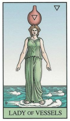 Lady of Vessels | The Alchemical Tarot