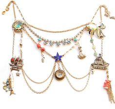 #boticca.com              #love                     #LOVE #necklace #Maria #Zureta                      SEA OF LOVE necklace | Maria Zureta                                           http://www.seapai.com/product.aspx?PID=1123512