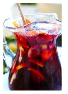 {Red wine} Sangria