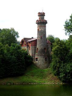 přehrada Les království - domek hrázného