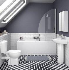 On a budget? Small Bathroom Renovations - KUKUN - small bathroom tiles [simple decoration ideas, interior design, home design, decoration, decoration - Small Bathroom Tiles, Small Bathroom Renovations, Loft Bathroom, Ensuite Bathrooms, Bathroom Colors, Bathroom Flooring, White Bathroom, Master Bathroom, Modern Bathrooms