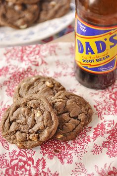 The BEST Root Beer Float Cookie in the world!!! A new favorite