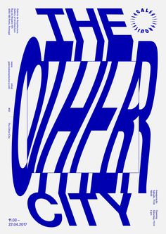 Gallery of Architecture Exhibition #02: The Other City Poster