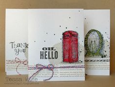 Crafty Girl Designs: Watercolored Trio
