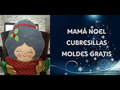Youtube, Crochet Hats, Deco, Craft, Easter Crafts, Christmas Crafts, Covering Chairs, Free Pattern, Noel