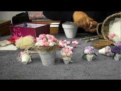 Flores de tecido passo a passo com Irene Sarranheira - YouTube