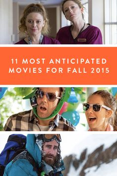 Fall 2015 Movie Preview via @PureWow | Our 11 most anticipated films. Sure, we're suckers for a good summer blockbuster (Mission Impossible was not entirely awful, OK?), but there's no greater rush than sneak peeking the new crop of trailers for fall.