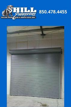 AFTER   16u0027 X 16u0027 Cookson Rolling Door | Location: Ellyson Industrial Park