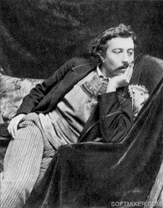 Before going to Tahiti, in Feb. 1891, Gauguin posed for this photograph for painter Boutet de Monvel.