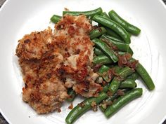 Mario Batali's Chicken Thighs with Garlicky Crumbs and Snap Peas Recipe on Yummly