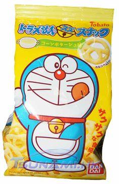 Tohato Doraemon Corn Cream Soup Snack