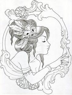 Poppies by Trissa on deviantART