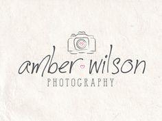 Premade Photography logo design photography by AquariusDownloads