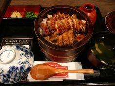 eel on the rice - ひつまぶし