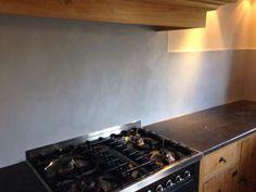 Beal mortex achterwand keuken - ©Stuc Ydee