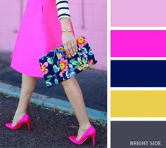 A cheerful fuchsia color-20 brilliant color combos for your wardrobe