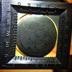 Flexo stamp with high LPI.