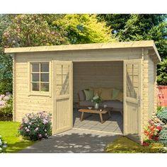 Outdoor Sheds, Outdoor Rooms, Outdoor Furniture Sets, Corner Summer House, Shiplap Cladding, Apex Roof, Garden Cabins, Custom Sheds, Diy Storage Shed