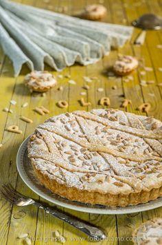 Fotocibiamo: PINOLATA...crostata con mandorle e pinoli della Val d'Aveto