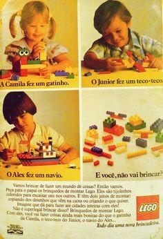 Propaganda de Lego (1986)