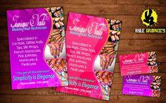 14 best nail flyers images on pinterest nail salons beauty salon