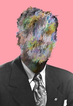 Artist Tyler Spangler works on vintage pictures he interprets by adding visual psychedelic touch. When the two universes blend, it create a series of portraits Digital Collage, Collage Art, Digital Art, Tyler Spangler, A Level Photography, Portraits, Glitch Art, Vintage Pictures, Pixel Art