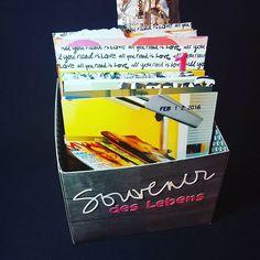 Made a box about this horrible Day last week. Soon on my #blog www.twinklinstar.com #spring2016 #february #twinklinstar #scrapbooking #minialbum #minibook