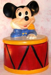 Mickey Mouse Disney Cookie Jars