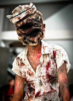 disfraz mujer halloween enfermera silent hill