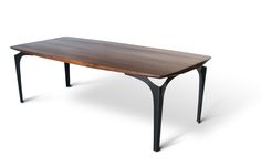 Bowed Stiletto Dining Table