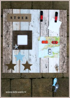 Bord voor aan de wand van een stoere #jongenskamer Crazy Kids, Love My Kids, Wood Crafts, Diy Crafts, Boys Desk, Boys Home, Metal Building Homes, New Baby Boys, Kidsroom