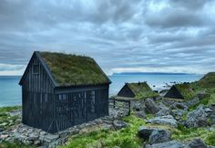 While in the northwest fjords, I came across these little huts with intermittent slats. This is where the fisherman hang the fish to dry in the incessant sea-winds that blow up the coast. Pretty cool, eh? - Iceland - Photo from #treyratcliff Trey Ratcliff at http://www.stuckincustoms.com/